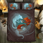 Fox Collection #090893D Customize Bedding Set Duvet Cover SetBedroom Set Bedlinen