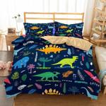 Dinosaur Theme Digital Printing Bedroom Household GoodsMultisizeelections3D Customize Bedding Set Duvet Cover SetBedroom Set Bedlinen
