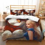 3D Customize Daenerys Targaryen Game Of Thrones et Bedroomet Bed3D Customize Bedding Set Duvet Cover SetBedroom Set Bedlinen