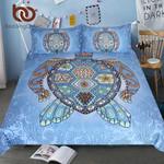 Turtles BlueTortoise MandalaBed Cover Animal Home TextilesFlower Paisley et3D Customize Bedding Set Duvet Cover SetBedroom Set Bedlinen
