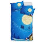 Christmas Night Moon GearWanta3D Customize Bedding Set Duvet Cover SetBedroom Set Bedlinen