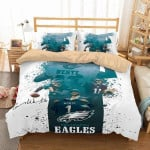 3D Customize Philadelphia Eagles Carson Wentz  3D Customized Bedding Sets Duvet Cover Bedlinen Bed set
