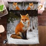 Red Fox #0924123D Customize Bedding Set Duvet Cover SetBedroom Set Bedlinen