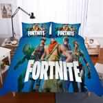 Fortnite Night Theme Digital Printmultiizeelectionky Blues3D Customize Bedding Set Duvet Cover Setbedroom Set Bedlinen