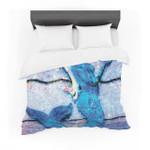 """Anne LaBrie """"Mermaidtarlight"""" Aqua Blue Featherweight3D Customize Bedding Set Duvet Cover SetBedroom Set Bedlinen"""