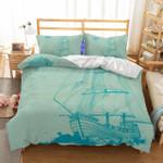 3D Naturalceneryailboat Printed Bedroom Blanket Mats Bed Duvet CoverChristmas3D Customize Bedding Set Duvet Cover SetBedroom Set Bedlinen