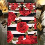 Rose Collection #0912123D Customize Bedding Set Duvet Cover SetBedroom Set Bedlinen