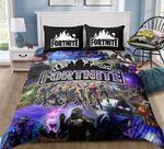 Team 1 Fortnite Gamer  3D Customized Bedding Sets Duvet Cover Bedlinen Bed Set