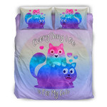 Everything I Do Is For My Catsfor Cat Lovers3D Customize Bedding Set Duvet Cover SetBedroom Set Bedlinen