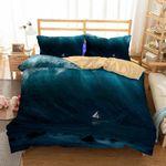 Theme Digital Printing HurricaneBedroom Household Items Piece3D Customize Bedding Set Duvet Cover SetBedroom Set Bedlinen