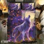Wolf Collection #0913393D Customize Bedding Set Duvet Cover SetBedroom Set Bedlinen