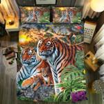 Tiger #083D Customize Bedding Set Duvet Cover SetBedroom Set Bedlinen