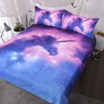 BlessLiving Galaxy UnicornKids Girls Outerpace et3D Customize Bedding Set Duvet Cover SetBedroom Set Bedlinen