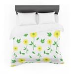 "Louise ""Daisy"" Yellow Green Featherweight3D Customize Bedding Set Duvet Cover SetBedroom Set Bedlinen"