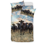 Farmer Cow 3D Customize Bedding Set Duvet Cover SetBedroom Set Bedlinen