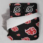 Naruto Logo  3D Customized Bedding Sets Duvet Cover Bedlinen Bed set