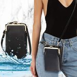 Lovard Leather Waterproof Crossbody Phone Bag for iPhone, Galaxy & Other