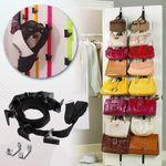 Liam Multifunction Over Door Rack Organizer For Hats, Bags & Others