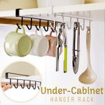 Kirby Sturdy Cabinet Storage Hanger Rack For Kitchen, Bathrooms & More