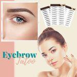 LuxBrows 4D Waterproof Microblading Long-Lasting Natural Eyebrow Tatoo