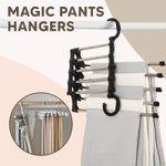 Mocca Multi-Functional Magic Space Saving  Pants Rack