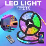 Ayla Self Adhesive Waterproof Color Changing Bluetooth LED Stripes Lights