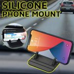 Saffi Multifunction Portable Anti-Slip Silicone Phone Mount Dashboard