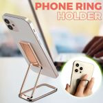 Cylin Universal Retractable 360 Degrees Rotation Phone Ring Holder