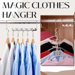 Hooky Metal Magic Space Saving Multi Functional Clothes Hangers