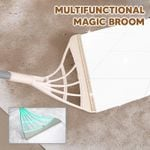 Sweepy Magic Multifunction 2-in-1 Wiping Sweeper Broom for Tiles, Glass, Hardwood Floor, etc.