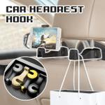 Clinch Universal Multifunctional 360 Rotation Phone Holder Car Seat Rear Hook