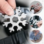 18-in-1 Stainless Steel Portable Snowflake Multi-Tool