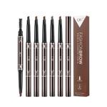Eyebrow Pencil Waterproof Long Lasting Thick Makeup Eyebrow Pencil Set Q702
