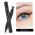 Double Head Eyeliner Long Lasting Waterproof Liquid Eyeliner Makeup Pencil Tool Q625