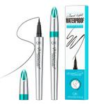Eyeliner Waterproof Long Lasting Flexible Slim Nib Liquid Eyeliner Makeup Tool Q621