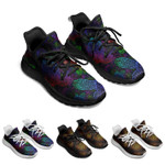 Colorful Turtle Owl Running Shoes Popcorn Sole