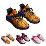 Mandala Peace Running Shoes Popcorn Sole