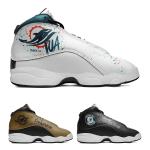 Miami Dolphins AJ13 Sports Teams Shoes