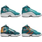 Miami Dolphins AJ13 Basketball Shoes