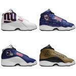 New York Giants AJ13 Basketball Shoes