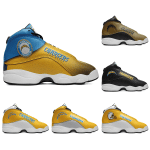 Los Angeles Chargers AJ13 Basketball Shoes