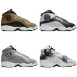Las Vegas Raiders AJ13 Sports Teams Shoes