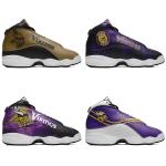 Minnesota Vikings AJ13 Sports Teams Shoes