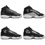 Las Vegas Raiders AJ13 Basketball Shoes