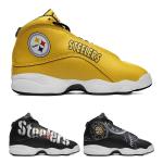 Pittsburgh Steelers AJ13 Basketball Shoes