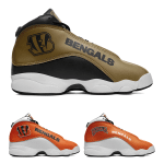 Cincinnati Bengals AJ13 Basketball Shoes