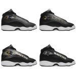 Baltimore Ravens AJ13 Sports Teams Shoes