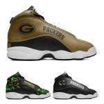 Green Bay Packers AJ13 Sports Teams Shoes