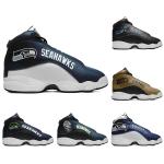 Seattle Seahawks AJ13 Sports Teams Shoes