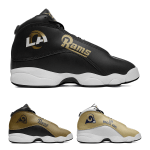 Los Angeles Rams AJ13 Sports Teams Shoes